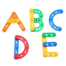 Colourful DIY  Building Blocks Game Kids Early Developmental Learning Toy N7