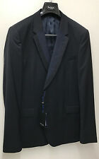 Paul Smith PS Blazer Navy Blue 100 Wool Uk42 Eu52 Chest 42""