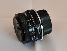 Tamron Adaptall - 2 28mm Wide Angle Lens F/2.5 Nikon Mount & Custodia in pelle