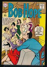 The ADVENTURES of BOB HOPE No. 66 1960 DC Comic Book GGA Models Cover 7.0 FN/VF