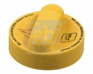 FEBI Oil Filler Cap - fits Renault Clio, Laguna, Master, Megane, Scenic, Trafic