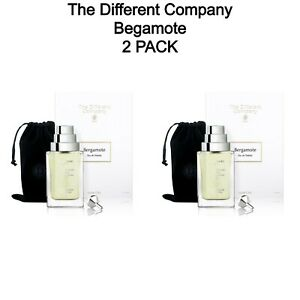 2 PACK - Bergamote By The Different Company Natural Spray 100 ml 3.3 fl oz New