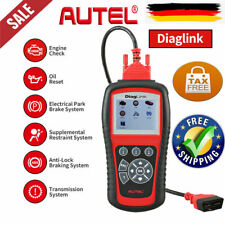 OBD2 EOBD Autel Diaglink Auto Diagnóstico All System Oil EPB ABS SRS as MD802