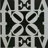 Robert Indiana - Love Rising, 68 cm x 68 cm