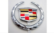 Cadillac CTS 08 09 10 11 Trunk WREATH & CREST Emblem!!