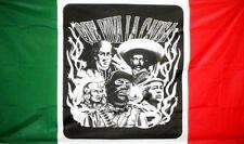 Que Viva La Causa Mexico County large 3 x 5 Flag Fl#708 mexico men novelty 3X5