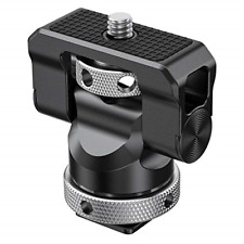SMALLRIG Field Monitor Holder Mount with Cold Shoe for 5 inch and 7 inch Swivel