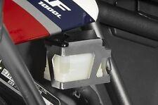 Honda CRF1000L Africa Twin Schutz Bremsflüssigkeitsbehälter hinten Edelstahl
