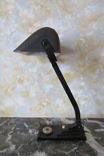 Ancienne Lampe de Bureau dite de Banquier ERPE Belgique - Vintage 1930