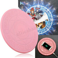 10W Magic Array Qi Wireless Fast Charger for Cellphone Samsung Huawei HTC LG