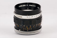 Canon Lens FL 50mm 50 mm 1:1.4 1.4