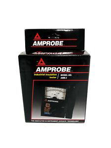 Fluke Amprobe AMB-3 Analog Megohmmeter Insulation Tester 1000V 2731008 BRAND NEW