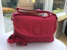 Kipling CAYLEEN Small Shoulder Bag with Adjustable Shoulderstrap,Flamingo Pink