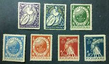 POLAND STAMPS MNH Fi128-34 Sc156-62 Mi164-70- Proclamation March Constitution,**