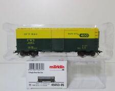 Märklin 45653 -05, H0 Single Door Box Car CMO #1697    pd1709
