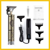 Tondeuse Cheveux Barbe Moustache Pro Electrique Rechargeable Sans Fil USB Homme