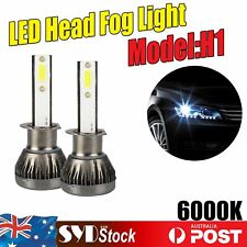 H1 Led Lights Headlights Bulbs Conversion Kit Upgrade Vehicle Front Head Lamp x2