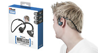 Trust 22501 Urban Auricolari Wireless Bluetooth Sport Nero cuffie archetto ear