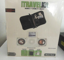 Music Gear MP2002 Travel Kit For Use With iPod, iPod Shuffle, iPod Mini