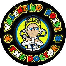 4x4 Spare Wheel Cover 4 x 4 Camper Graphic Sticker Valento Rossi The Doctor 124A