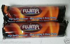 20pc FUJIMA Charcoal Disc for Hookah Funnel 33mm  (2 rolls)