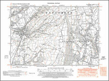 Blaenhonddan west, Glais, old map Glamorgan 1948: 15NE repro Wales