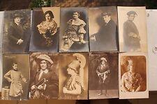 27655 10 Foto AK Waldemar Staegemann Opern-Sänger Dresden um 1914