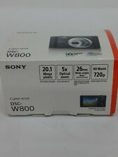 Sony Cyber-shot DSC-W800 20.1MP Compact Camera - Black. (Used)