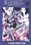 Expendables 2: Zero Heroes - 4 Film Collection (DVD, 2010) ***FREE SHIPPING***