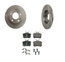 For VW Passat 00-05 2.8L AWD Rear Premium Brake Kit Brembo Rotors+Rear Ate Pads