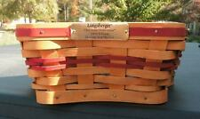 Longaberger Patriotic Shining Star Combo With Patriotic & Holiday Liners