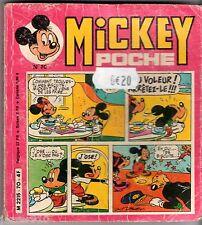 ° MICKEY POCHE n°70 ° 01/1980 ° (PICSOU-DONALD)
