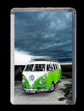 VW CAMPER VAN, RETRO, SOUVENIER FRIDGE MAGNET 70mm X 45mm birthday/xmas gift