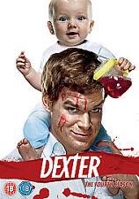 Dexter - Series 4 (DVD, 2010, 4-Disc Set)new/free postage uk