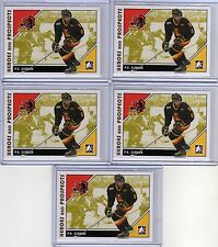PK P.K. SUBBAN 07/08 ITG H&P RC Pre-Rookie Lot of (5) #77 Montreal Canadiens
