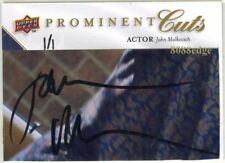 2009 Prominent Cuts Psa/Dna Auto: John Malkovich #1/1 Autograph Changeling/Being