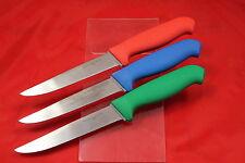 Dawson River Boning Knife 6 Inch Blade set of three. Non Slip Soft Feel Handle