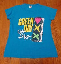 #2327-6 Green Day OH Love Graphic T-Shirt W - L