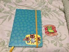 Animal Crossing New Horizons Journal Calendar Notebook + Froggy Chair Sticker