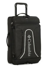 """$320 NWT Columbia Northern Range 21"""" Rolling Suitcase with Duffle Black Carry On"""