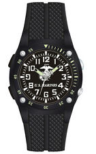 U.S. Marine Corps EL Light Watch with Flashlight - 100m Water Resistant