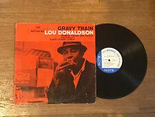 Lou Donaldson LP - Gravy Train - Blue Note BST 84079 Stereo RVG Ear
