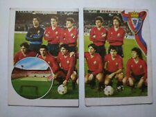 CROMO FUTBOL 1984 -1985 GOL CAMPEONATO DE LIGA - EDITORIAL MAGA #149 y #150