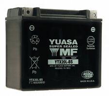 Bateria Yuasa YTX20L-BS sin mantenimiento