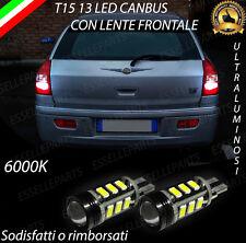 LAMPADE RETROMARCIA 13 LED T15 W16W CANBUS CHRYSLER 300C TOURING NO ERROR