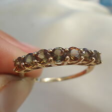 1.25ct Natural Unenhanced Andalusite Gold Band Ring