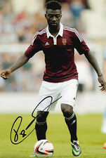 Prince Buaben, Heart of Midlothian, Hearts, signed 12x8 inch photo. COA.
