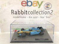 "Die Cast "" Renault R24 - 2004 Jarno Trulli "" Formula 1 Collection 1/43"