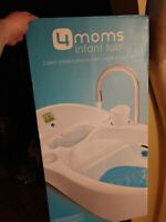 4 Moms Baby Bathtub w/Digital Thermometer with box used Local Pickup also