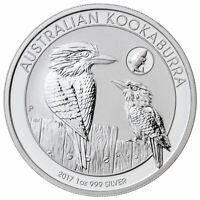 2017 1 oz .999 Silver Australian Kookaburra GEM BU Coin Perth Mint Shark Privy